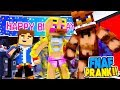 Minecraft FIVE NIGHTS AT FREDDY'S PRANK - FREDDY & CHICA ARE NAKED