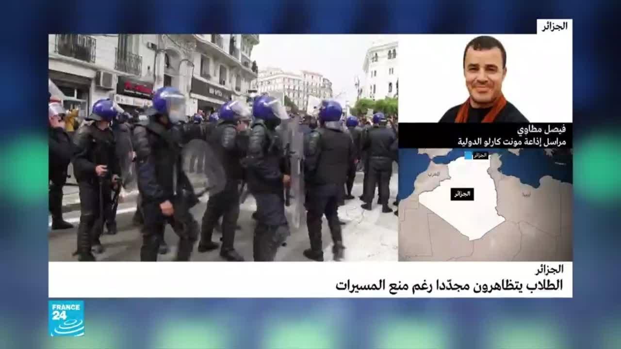 الحراك الشعبي في الجزائر: مواطنون يشاركون في مسيرة الطلاب.. وتبون: -لا أنوي الاستقالة-  - 11:59-2021 / 3 / 3