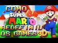 Como Super Mario 64 Redefiniu os Games 3D ! ( E se Redefiniu !)( Especial Super Mario Odyssey )