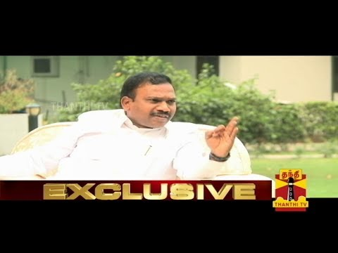 Exclusive Interview With A.Raja - Thanthi TV