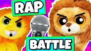 Beanie boos Bushy VS kIng rap battle! Annoying little brother vs big brother ( 20k sub special )