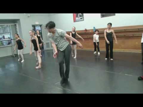 Taisotechnique kids class at Southern California Dance Academy in Long Beach CA 7/27/17