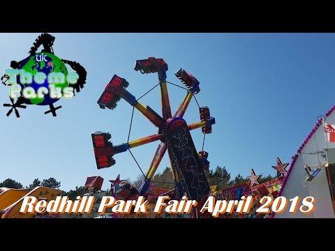 Redhill Park Bournemouth Fun Fair April 2018 4K