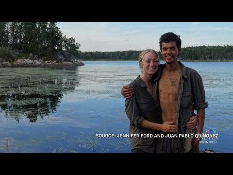 Survival skills: Couple spends 6 months living in wilderness
