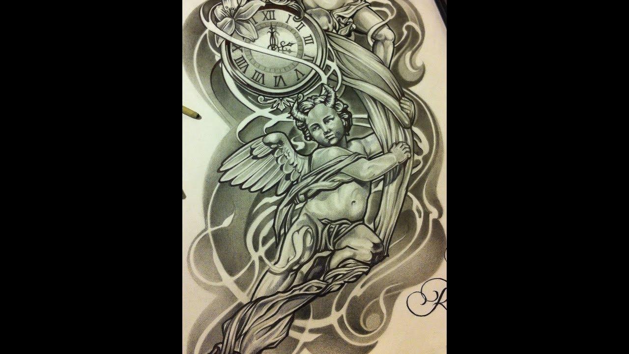 Angel Tattoo Art | Tattoo Ideas