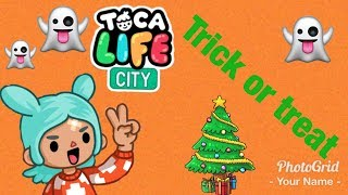 Toca life city | Trick or Treating?!?