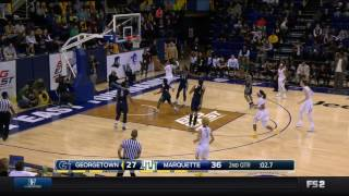 #MUWBB Game Highlights: Marquette 80 , Georgetown 66 - March 5, 2017