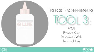 Teacher Creator's Toolbox TOOL 3 Protect Your Resources With Terms of Use Mp3