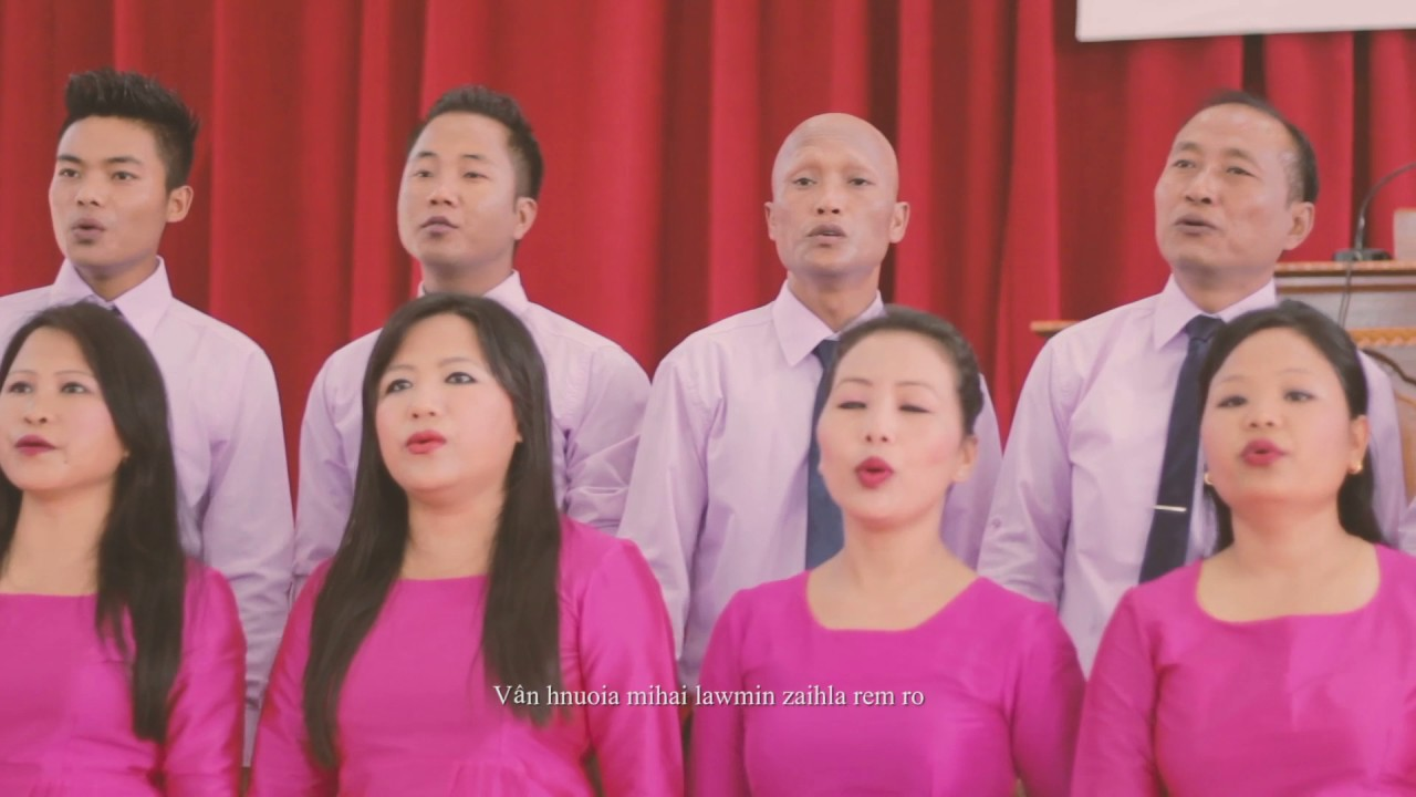 EFCI N C Hills Presbytery Choir  Inpak ro Beramte  By Pastor Lalngailien  Hmar