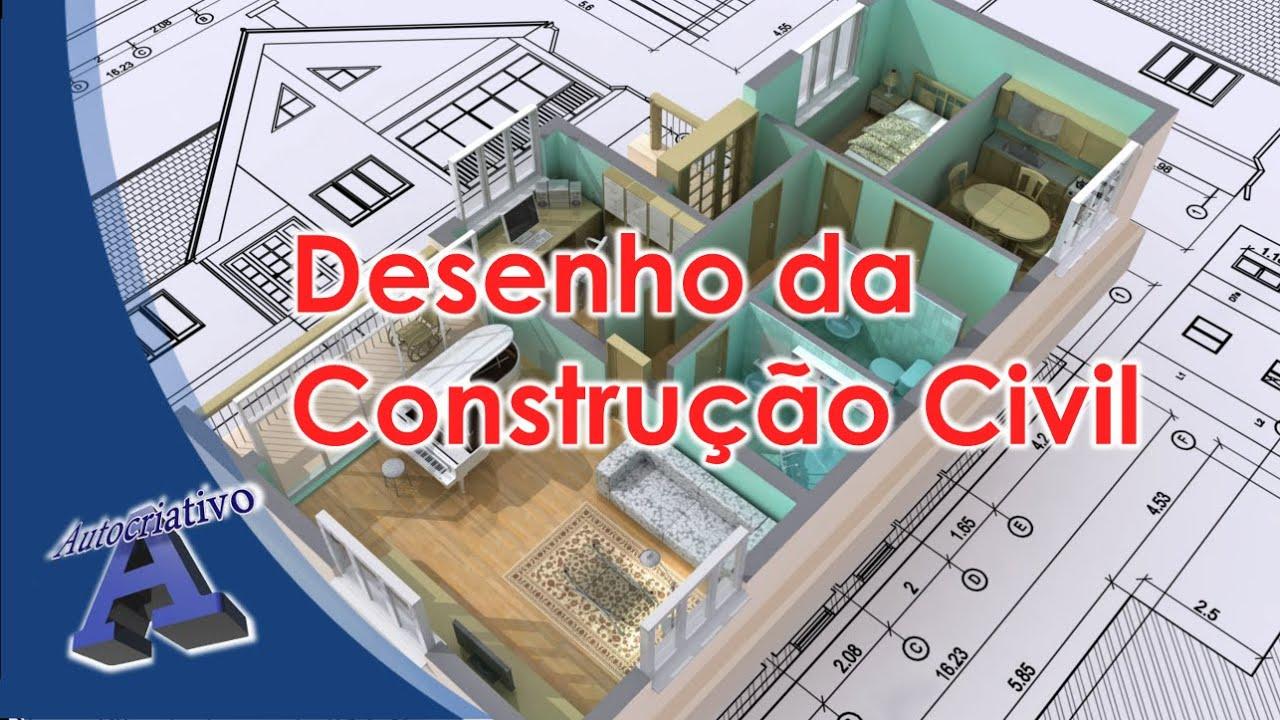 Curso de Desenho da Construção Civil - Aula 01/28 - Autocriativo