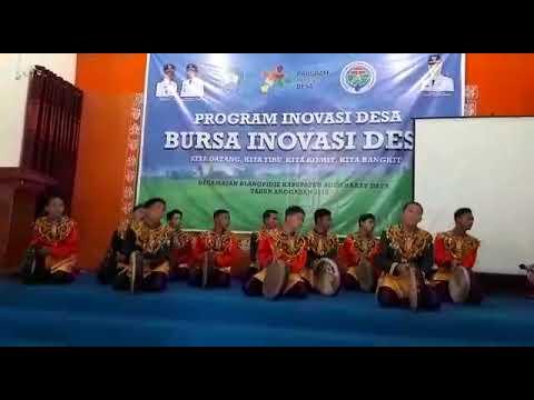 Rapa'i Geleng Iringi Bursa Inovasi Desa Kec. Blangpidie