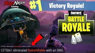 100 PLAYER BATTLE ROYAL 2 THE DEATH ! WITH THE NINJA SQUAD! ROAD TO #1 TEAM | FORTNITE ☯SUB 4 LUCK☯