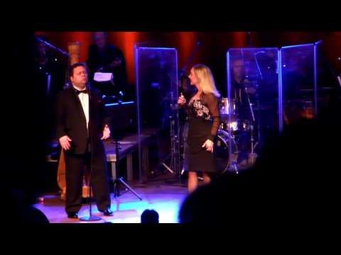 Paul Potts and Lene Siel Perhaps Love in Aaberaa December 9th 2012