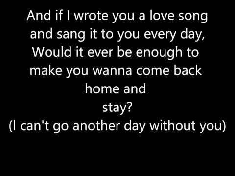 "Florida Georgia Line-""Stay"" Lyrics"