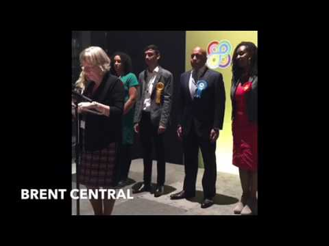 General Election 2017 Results - Brent