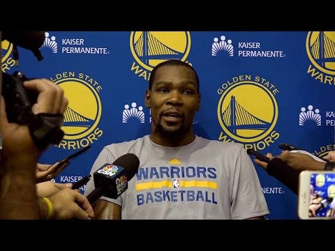 Kevin Durant Post Game Interview Golden State Warriors vs Los Angeles Clippers. 144-98 HoopJab NBA