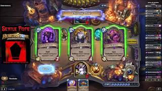 Hearthstone BDP: Dual Arena - Warlock Priest vs Shaman Druid (Season 55 Day 20)