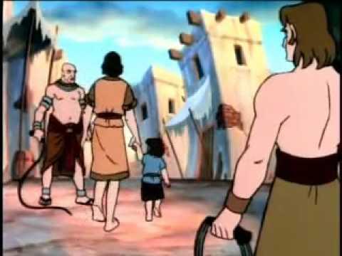 Desenhos Da Biblia Moises Parte 1 Youtube