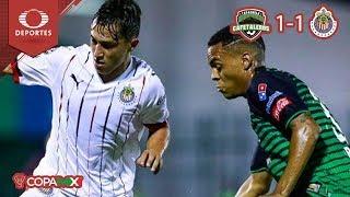 Chivas pasa invicto a octavos | Cafetaleros 1 - 1 Chivas | Copa MX - J6 - Cl19 | Televisa Deportes