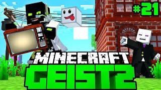 FERNSEHER vom NACHBAR GEKLAUT?! - Minecraft Geist 2 #21 [Deutsch/HD]