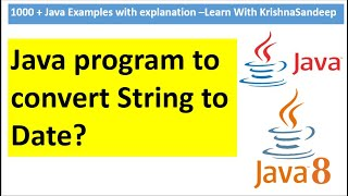 How to convert String to Date in java?