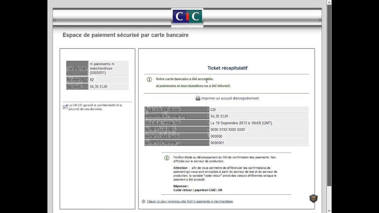 Carte Bleue Woocommerce.Test De La Passerelle De Paiement Cm Cic Pour Woocommerce Youtube