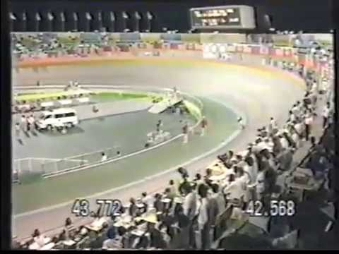 Robert Lechner - 1.000m Zeitfahren Seoul 1988