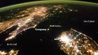 """NASA muestra el """"agujero negro"""" en Corea del Norte"""