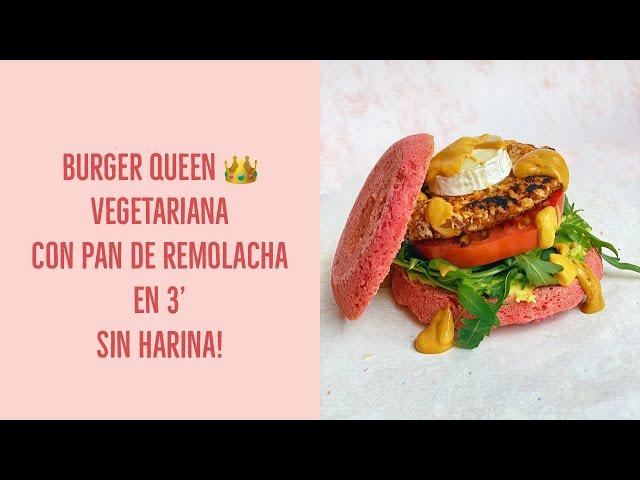 Mi Burger Queen vegetariana!