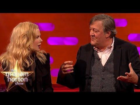 Nicole Kidman Is Blown Away By Stephen Fry's Intelligence | The Graham Norton Show