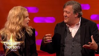 Nicole Kidman Is Blown Away By Stephen Fry's Intelligence | The Graham Norton Show