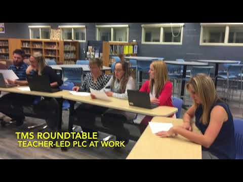 Thermopolis Middle School PLC DuFour Award Entry 2017