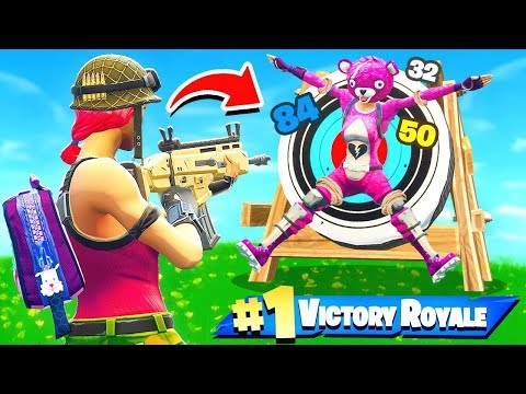 *NEW* BULLSEYE ONLY Gamemode in Fortnite Battle Royale!