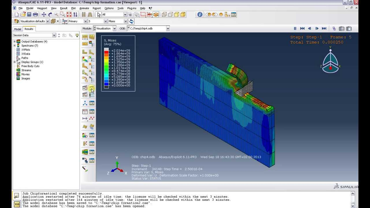 how to change loading increment abaqus