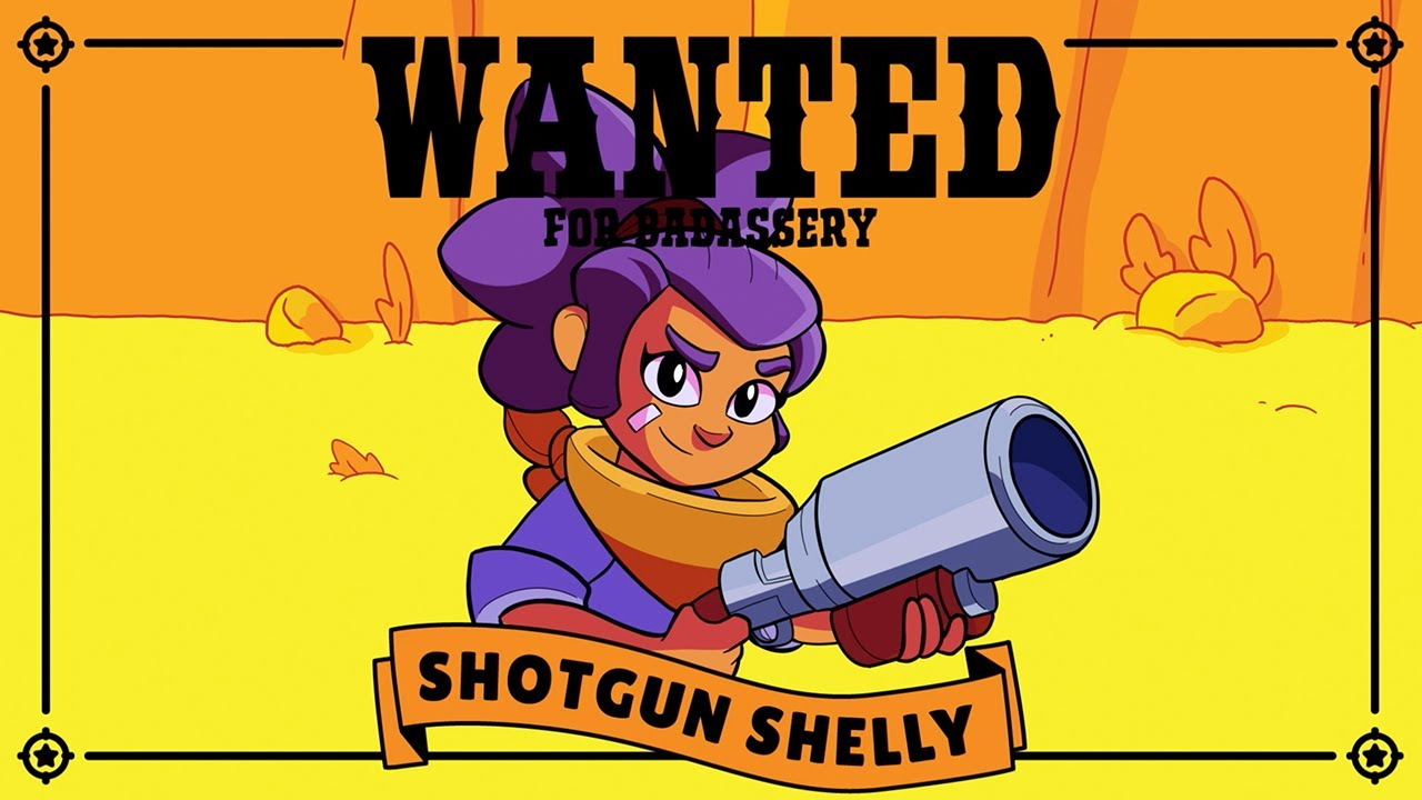 Brawl Stars Character Intro: WANTED – SHOTGUN SHELLY - YouTube