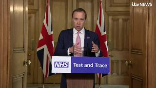 Live: Health secretary Matt Hancock leads the daily government coronavirus briefing   ITV News