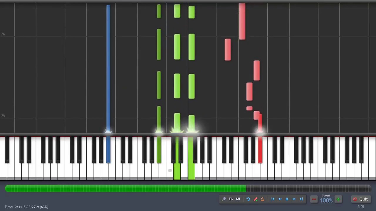 Underneath The Christmas Lights Sia Piano Tutorial Synthesia Karaoke Youtube