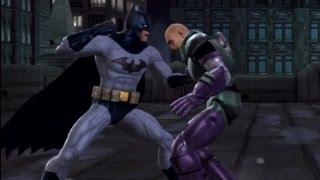 DC Universe Kombat - Batman vs Lex Luthor - Mortal Kombat vs DC Universe - HD