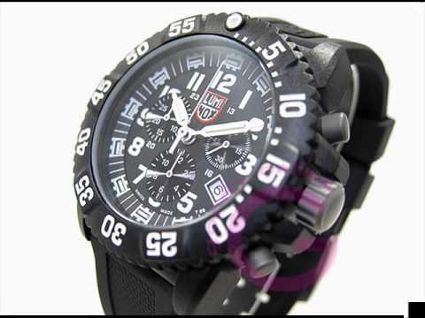 7cfeb204101 Luminox Colormark Chronograph watch 3081 - YouTube