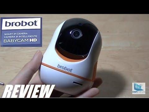 REVIEW: Brobot - Pan & Tilt 360 Wi-Fi IP Camera ($49)