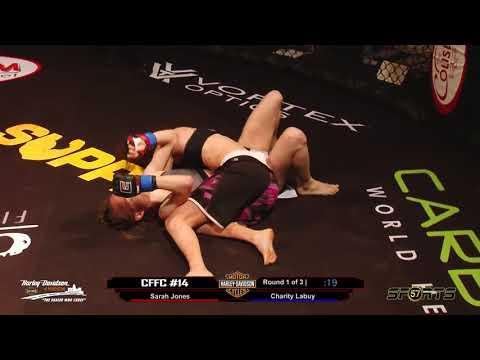 Chosen Few Fighting Championships  Charity Labuy vs  Sarah Jones