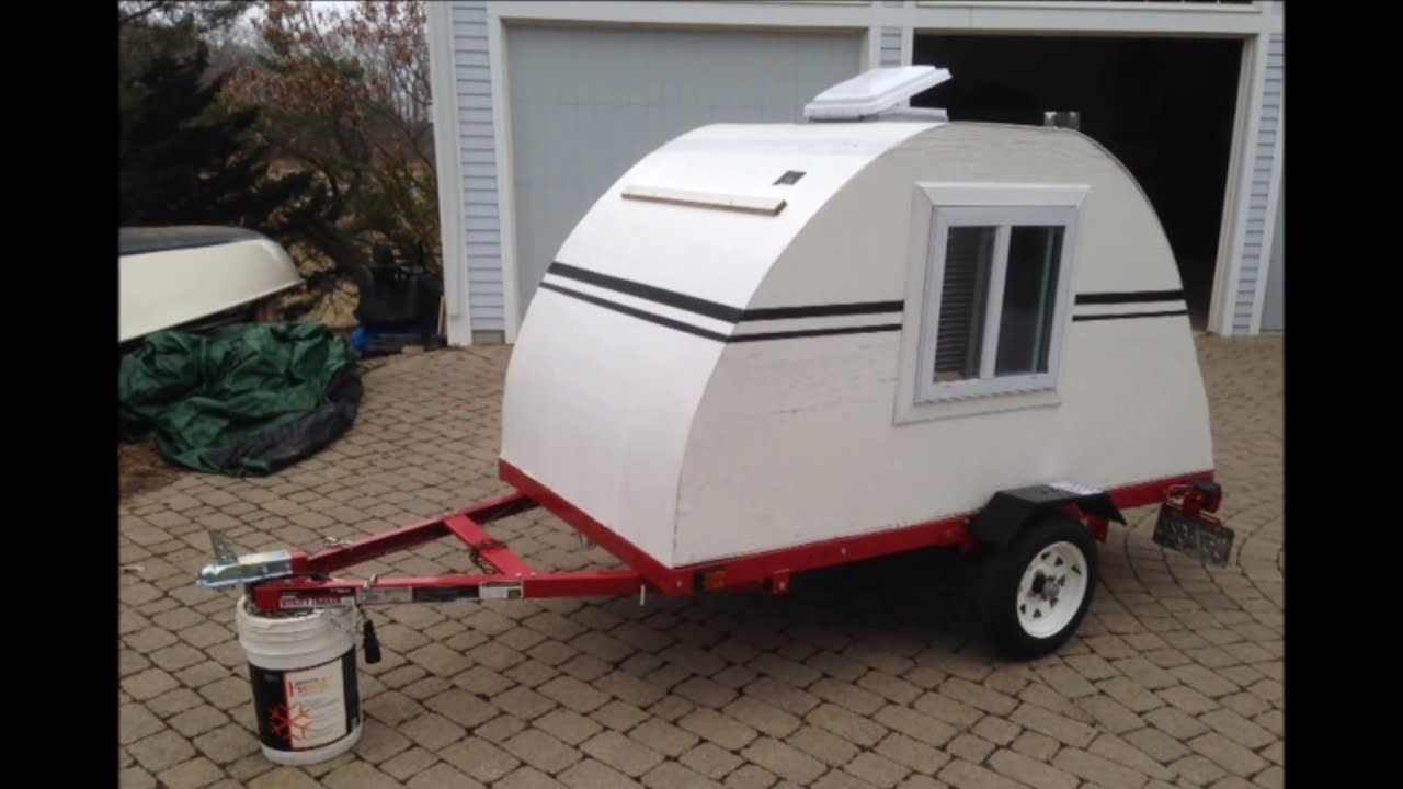 Homemade Teardrop Camper - Build