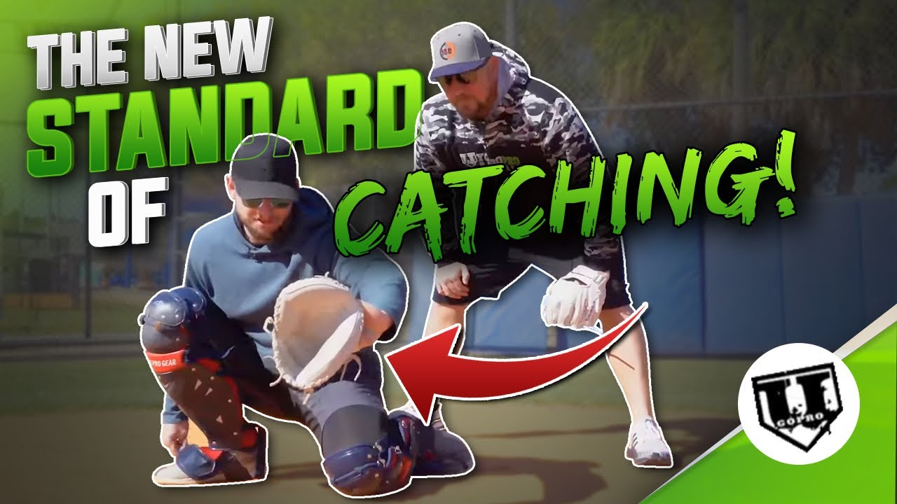 Download One Knee Down Catcher Stance (The New Standard of Catching!)