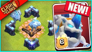 "...ALL NEW ""ICE HOUND"" COMES TO CLASH OF CLANS!"