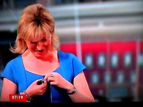 Carol Kirkwood loses it BIG TIME