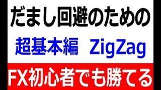 FX投資 MT4標準インジケーター「ZigZag」でダマシを回避する