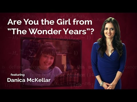 """Video image: Are You the Girl from """"The Wonder Years""""?"""