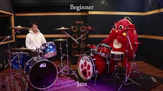 Professional Vs Beginner Drummer (Feat. Nyango Star)
