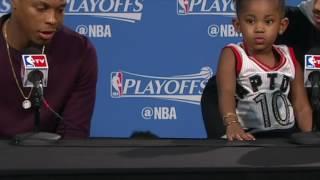 NBA kids stealing playoff spotlight