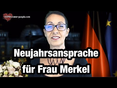 #NEUJAHRSANSPRACHE FÜR FRAU #MERKEL ⚠️